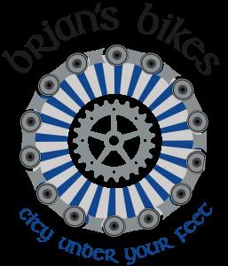 logo brian's bikes